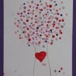 Valentine's Day Tree Craft