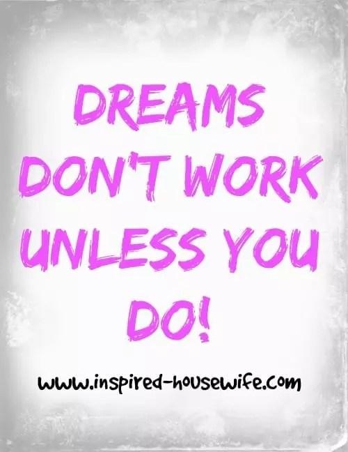 Work Hard Dream Big Stay Focused