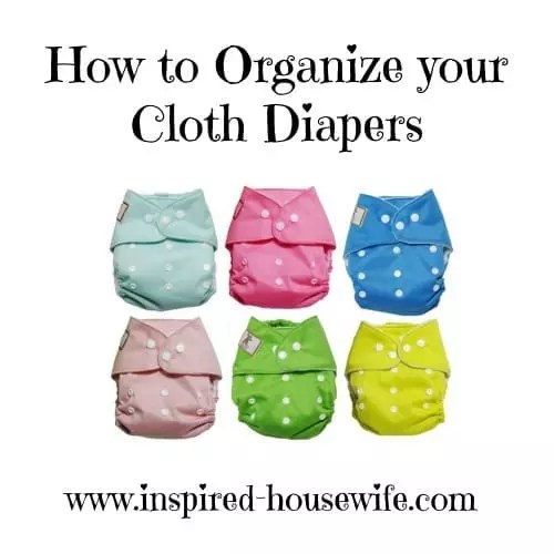 How to Organize Cloth Diapers