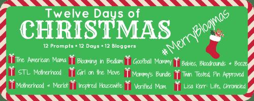 Twelve Days of Christmas - #MerryBlogmas