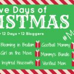 Twelve Days of Christmas – #MerryBlogmas