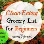 Clean Eating Grocery List for Beginners
