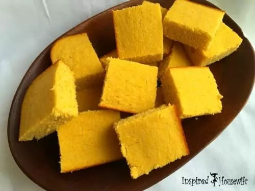 A healthy gluten free cornbread that is a family favorite Totally delicious and perfect to go with chili, soups, or as a stand alone.