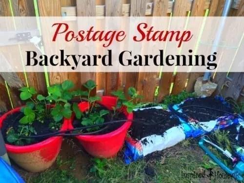 Postage Stamp Backyard Gardening