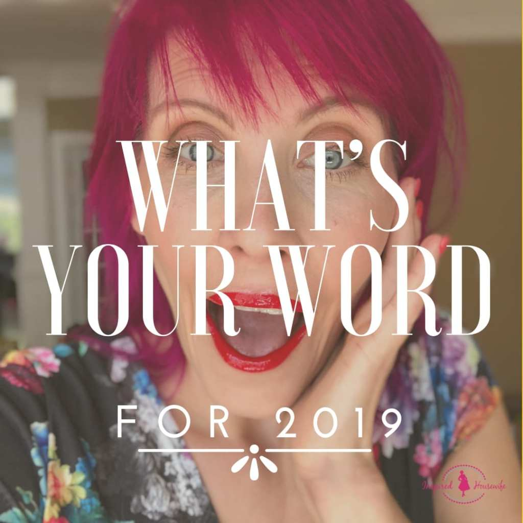 What's Your Word of the Year for 2019?