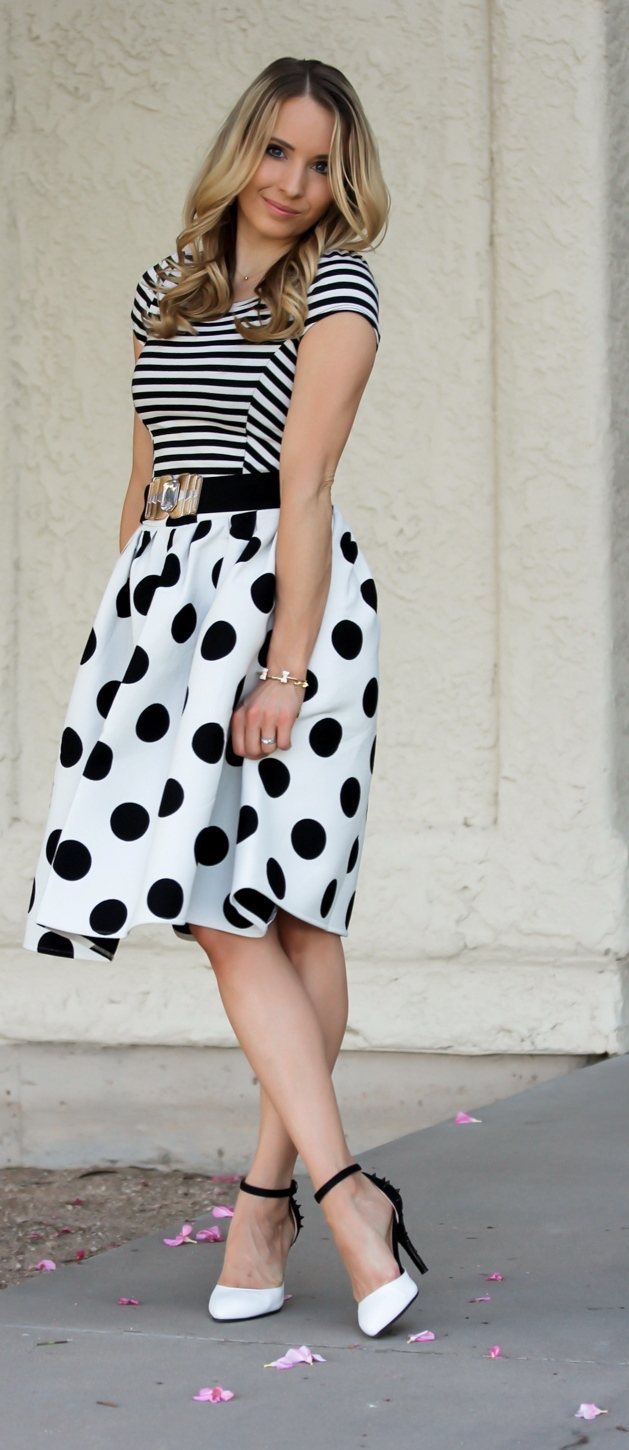 25 Summer Polka Dot Outfits Ideas
