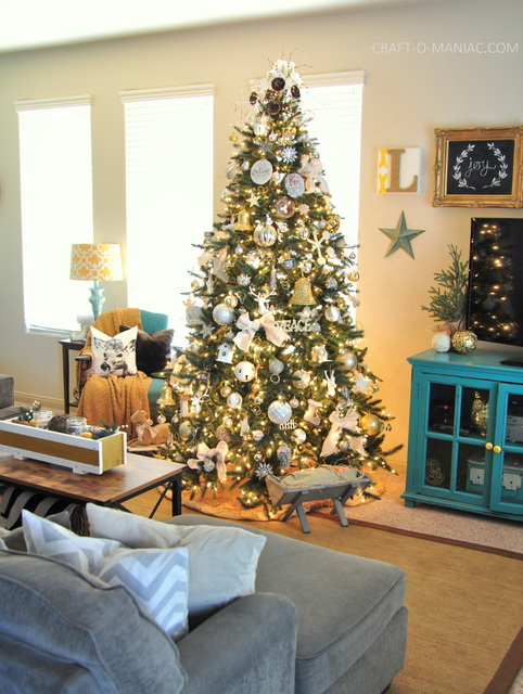 Christmas Decorating Ideas For Apartments   Elitflat 25 Stunning Apartment Christmas Decoration Ideas