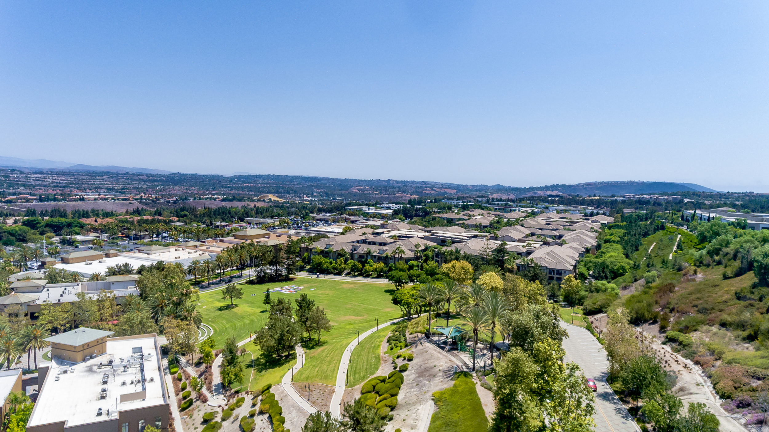 View of Aliso Viejo neighborhoods