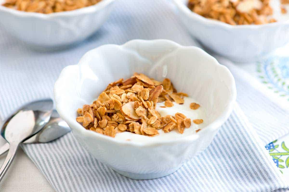 Homemade Honey Almond Granola Recipe