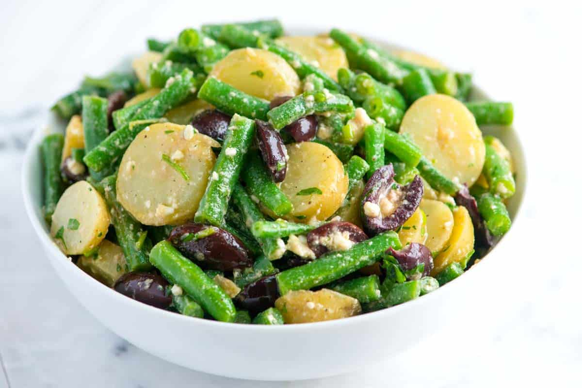 Green Recipe Salad Easy Bean