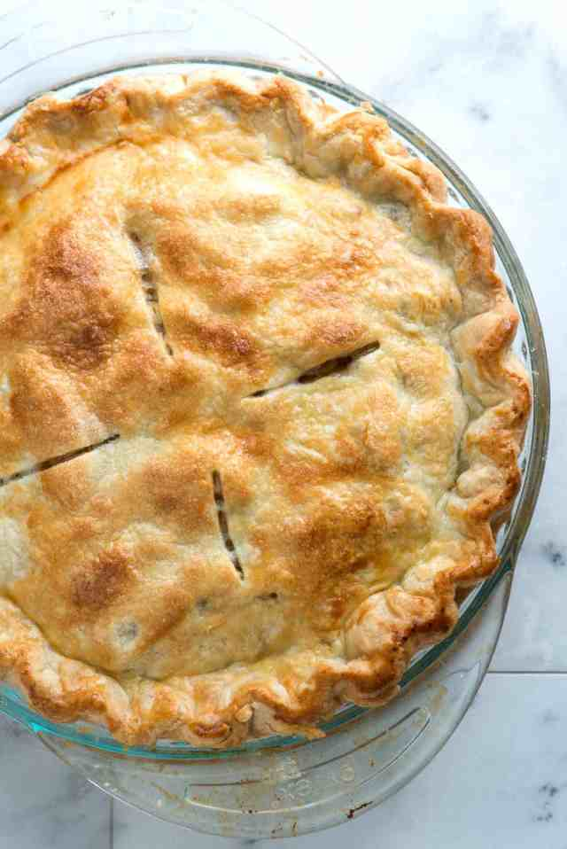 Easy All-Butter Flaky Pie Crust