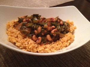 black eyed pea and collard stew 1
