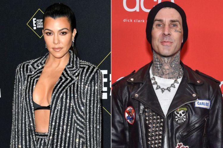 Kourtney Kardashian in a relationship with musician Travis ...