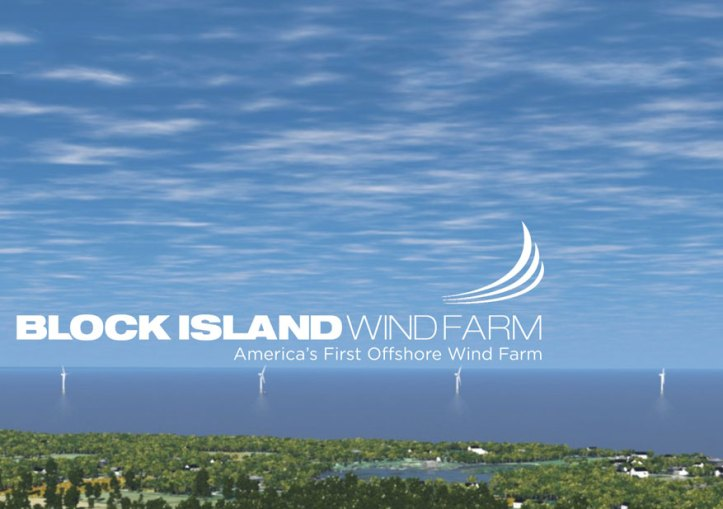 Deep Water Wind, Block Island Wind Farm wind turbine generators.