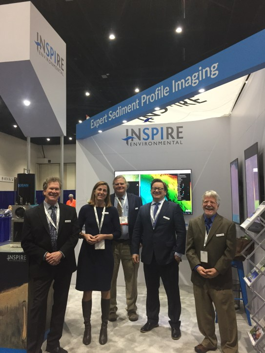 INSPIRE Booth at Oceanology INternational 2017
