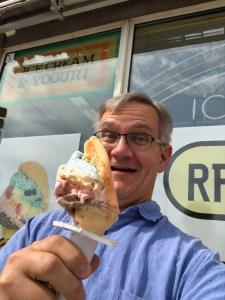 I like ice cream.