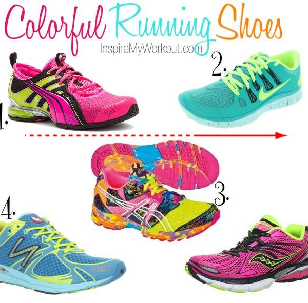Colorful Running Shoes for Women