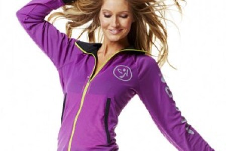 zumba beam me up active jacket