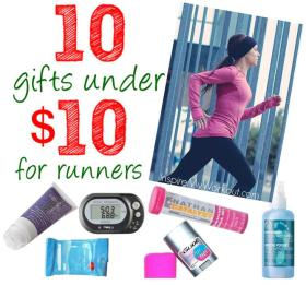 10 Under $10 Gift Ideas for Runners