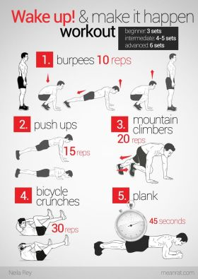 Simple Daily Morning Workout
