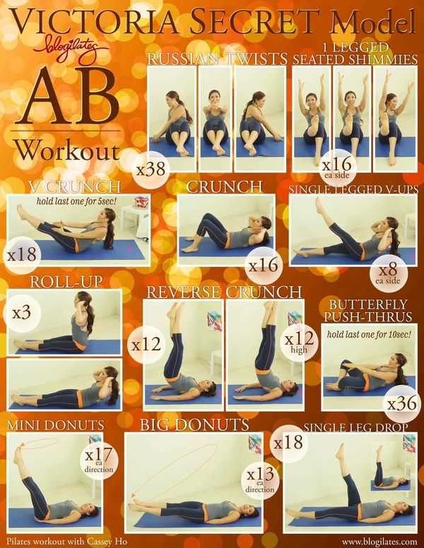 Fantastic Abs - InspireMyWorkout.com - A collection of