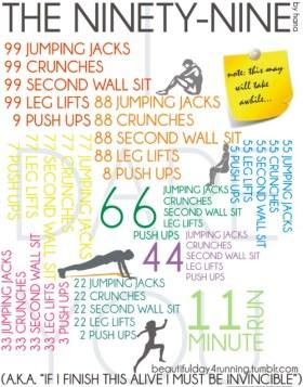 The ninety-nine exercise