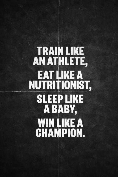 Train like a