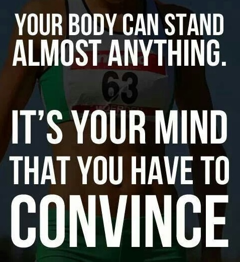 Your body can