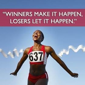 Winners make it happen