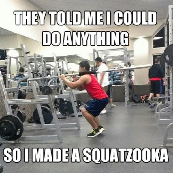 They told me I could do anything, so I made a SQUATZOOKA.