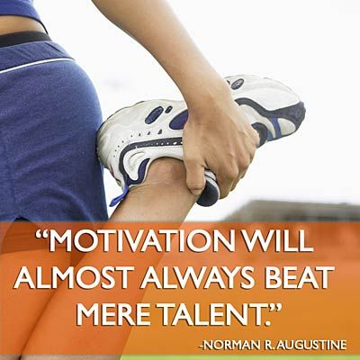 Motivation will almost always beat mere talent