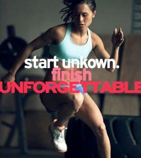 Start unkown finish unforgettable