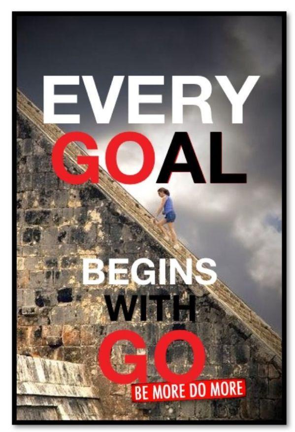 Every goal begins 1