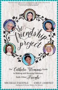 The front cover of The Friendship Project Book