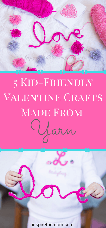 5-kid-friendlyvalentine-crafts-made-from-yarn