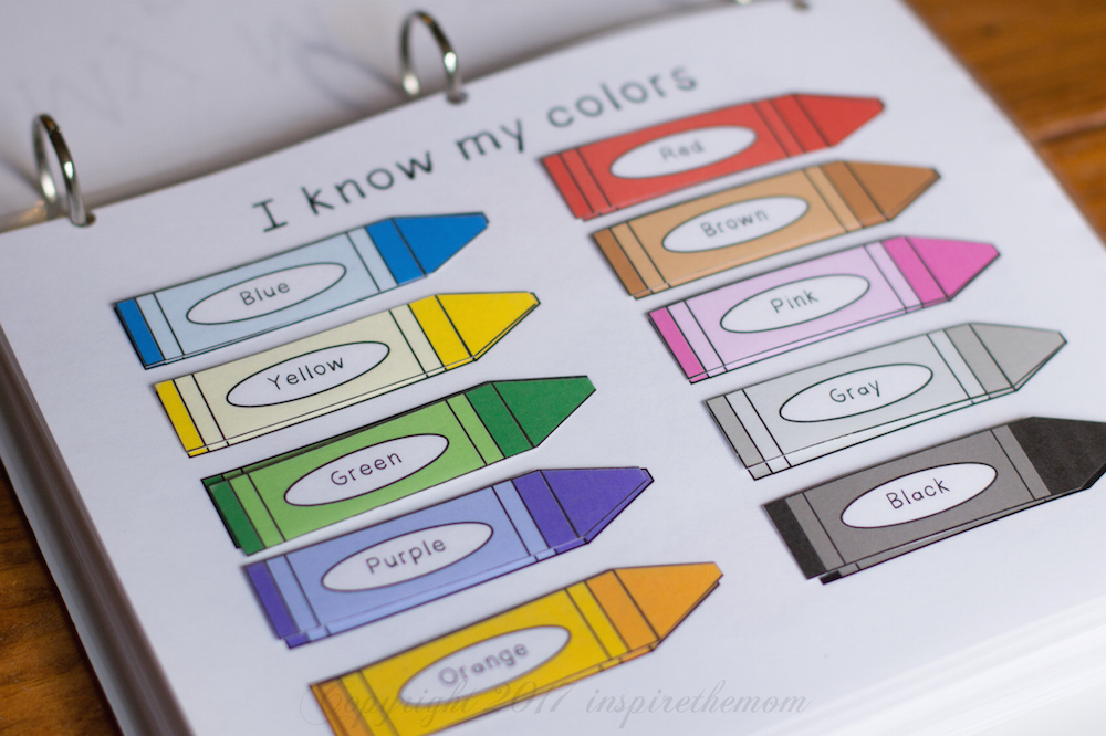 Printable Learning Folder For The Early Years Inspire
