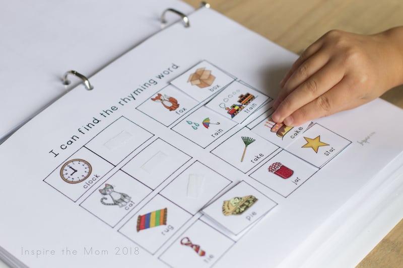 Literacy notebook