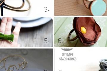 10 DIY rings to try