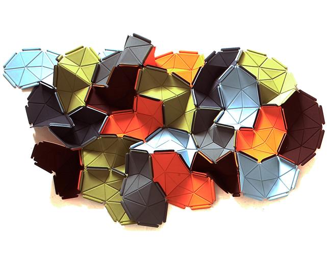 Origami e design - Kvadrat Clouds