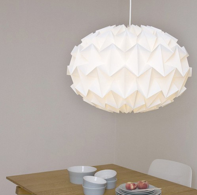 Origami e design - Origami lamp