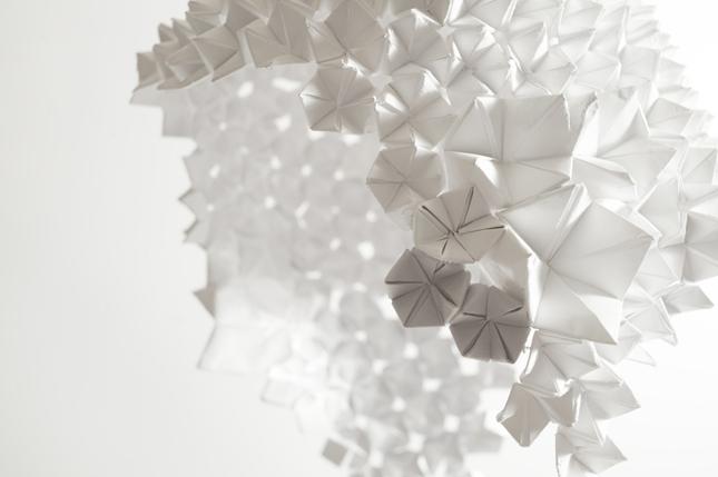 Origami e design - Paper drops