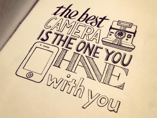 Typographic Quotes: Something To Believe In #32