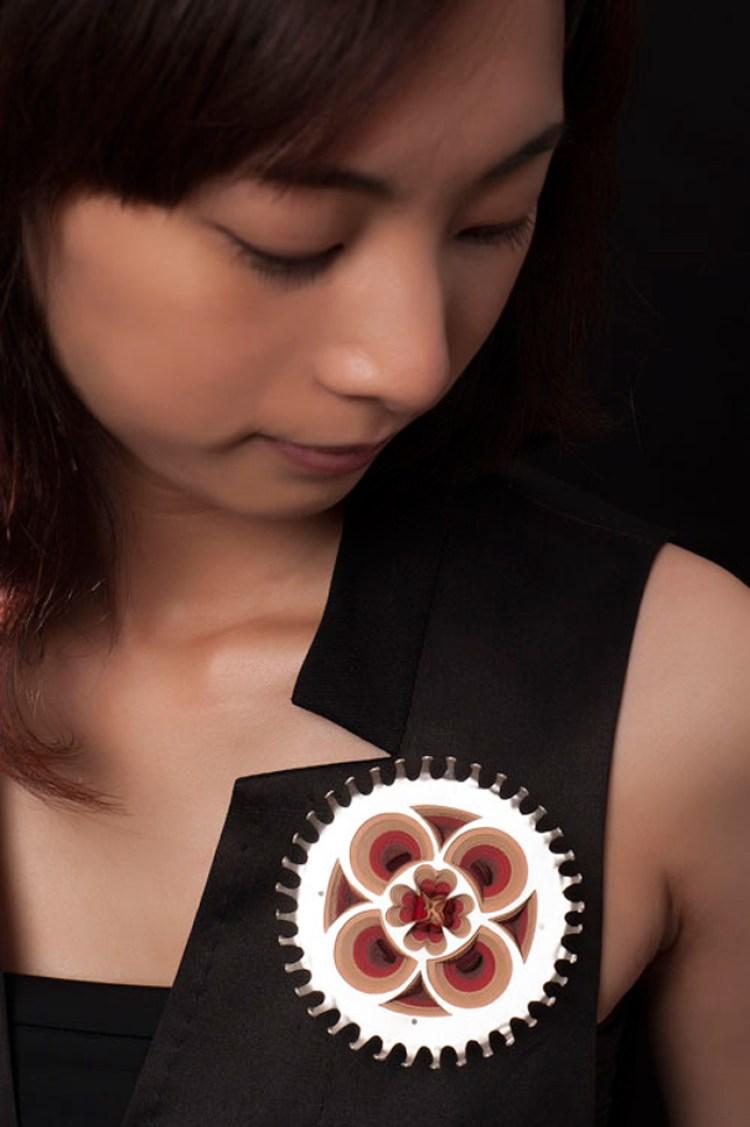 I gioielli di carta di Li-Chu Wu