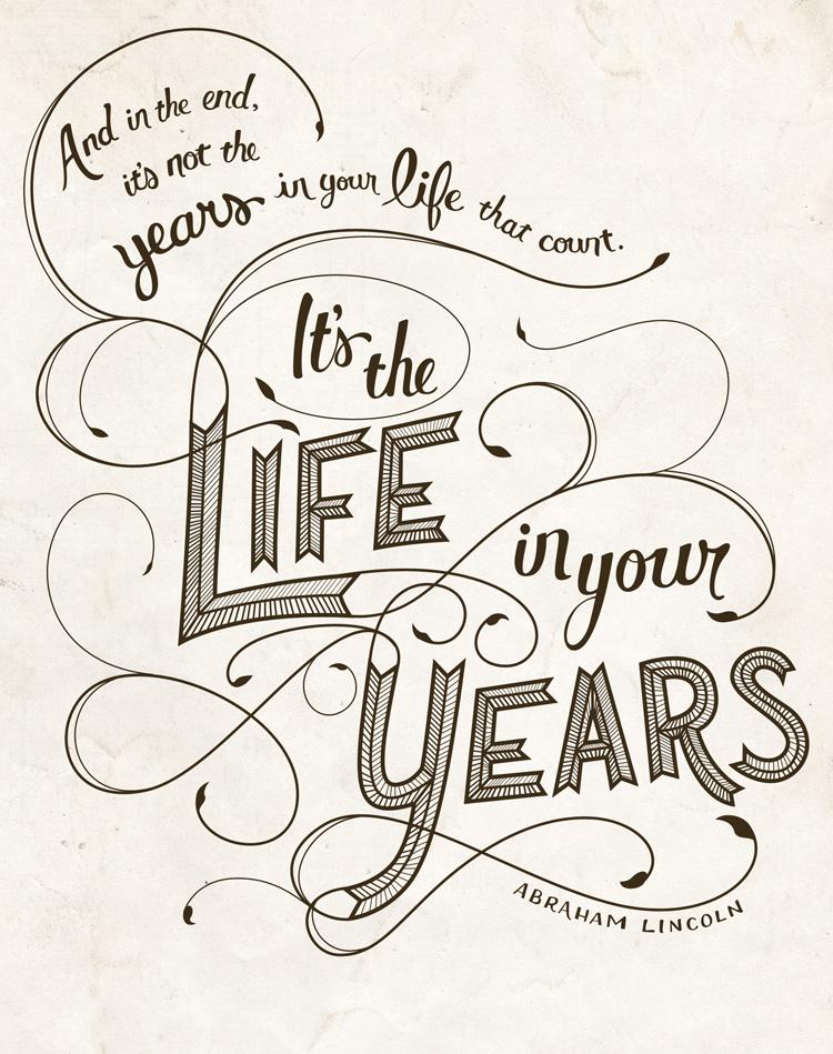 Typographic Quotes: Something To Believe In #38