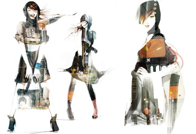Sophie Griotto fashion illustration