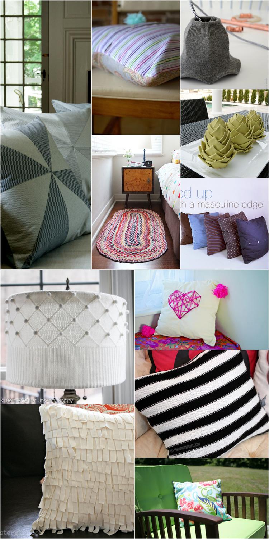 January Craft: home decor con i tessuti