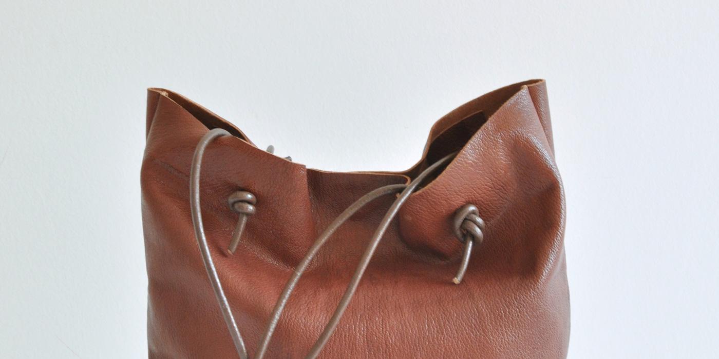 January Craft: come realizzare borse in pelle