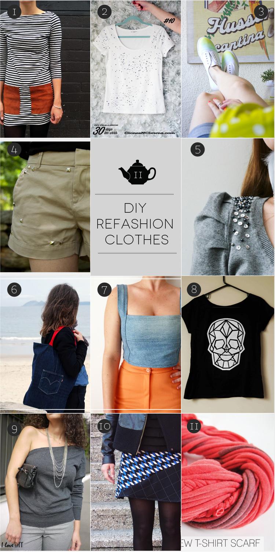 January Craft: refashion clothes. Rifatevi il guardaroba!