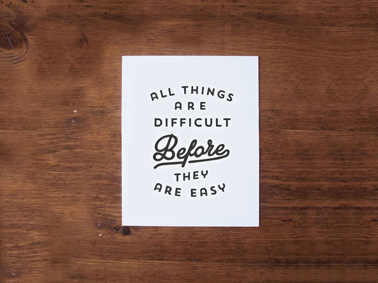 Typographic Quotes #48 | Inspire We Trust