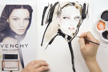How to draw fashion portraits